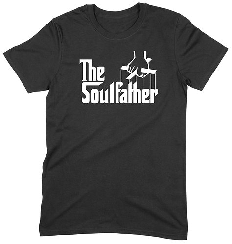 The Soulfather T-Shirt - MEDIUM / BLACK / PREMIUM WEIGHT