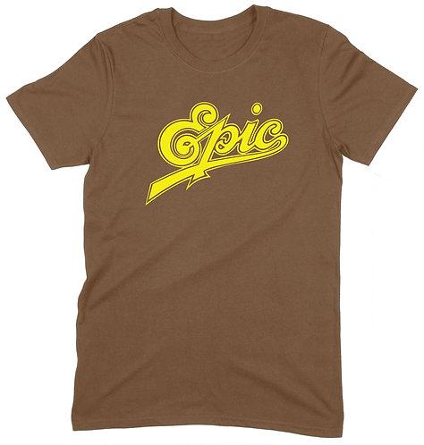Epic T-Shirt - LARGE / BROWN / ORGANIC STANDARD