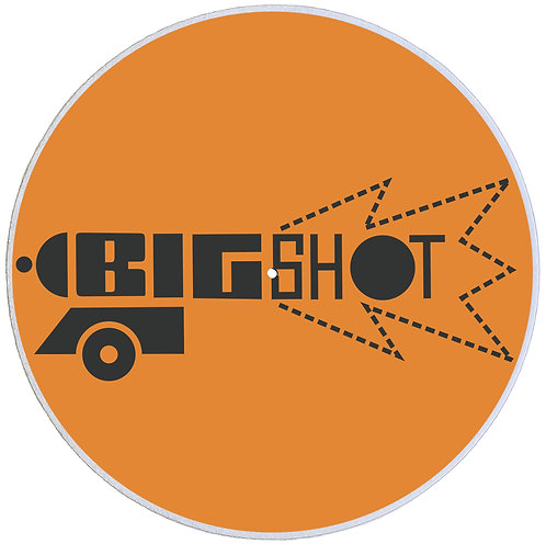 "Big Shot Records Slipmats Double Pack (2 x 7"")"