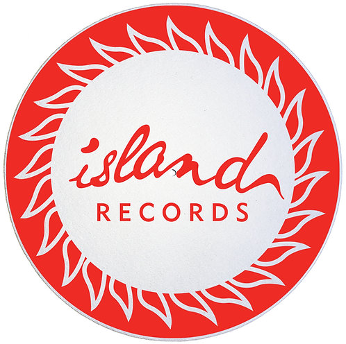 Island Records Slipmats - Double Pack (2 Units)