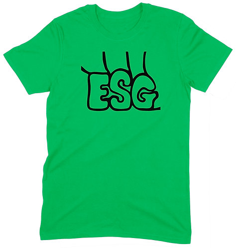ESG T-Shirt - SMALL / GREEN / LIGHTWEIGHT