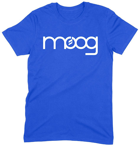Moog T-Shirt - LARGE / ROYAL BLUE / ORGANIC STANDARD