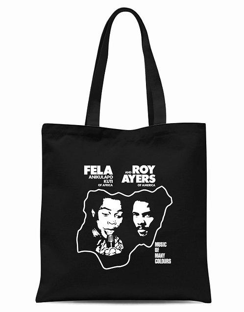 Fela Kuti & Roy Ayers Tote Bag