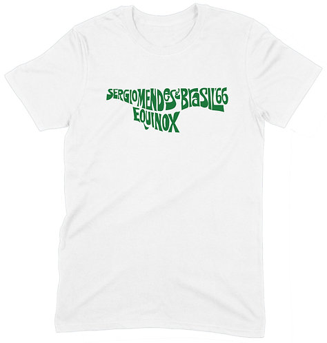 Sergio Mendes T-Shirt - XL / WHITE  / ORGANIC STANDARD WEIGHT