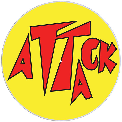 Attack Records Slipmats - Double Pack (2 Units)