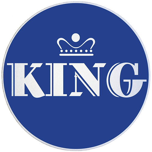 King Records Slipmats - Double Pack (2 Units)