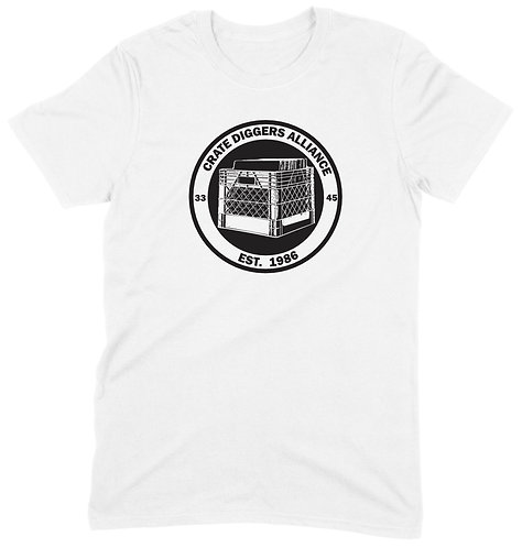 Crate Diggers Alliance T-Shirt