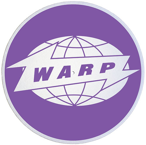Warp Records Slipmats - Double Pack (2 Units)