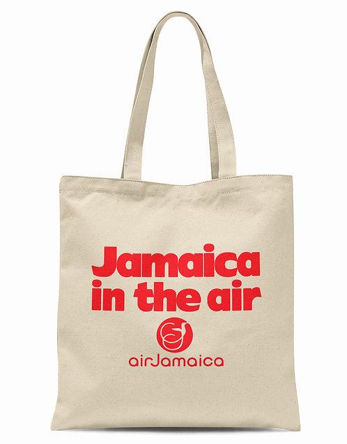 Air Jamaica Organic Cotton Tote Shopper Bag