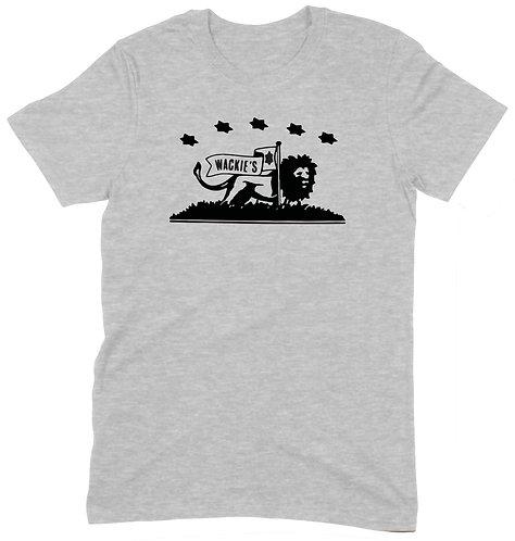 Wackie's T-Shirt - LARGE / GREY MARL / ORGANIC STANDARD