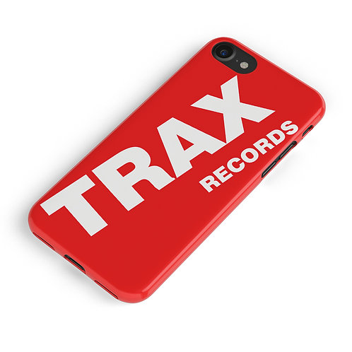 Trax Records iPhone Case