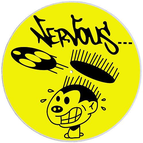 Nervous Records Slipmats - Double Pack (2 Units)
