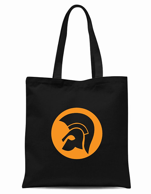 Trojan Crown Tote Bag