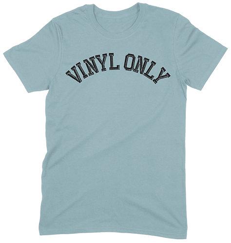 Vinyl Only T-Shirt - 2XL / LIGHT BLUE / ORGANIC STANDARD WEIGHT