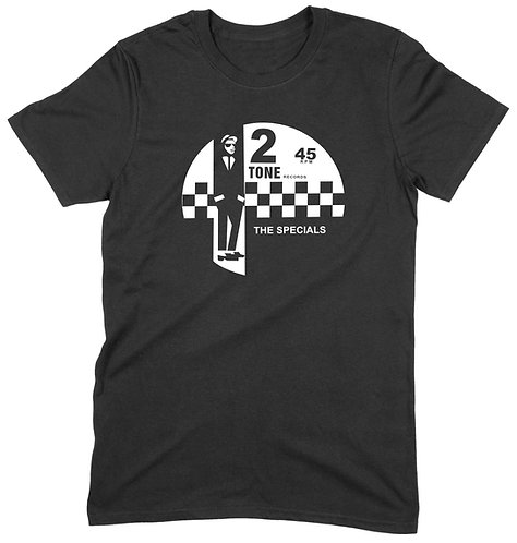 2 Tone T-Shirt - 3XL / BLACK / STANDARD WEIGHT
