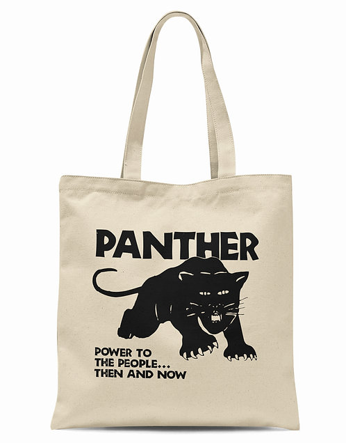 Black Panther Organic Cotton Tote Shopper Bag
