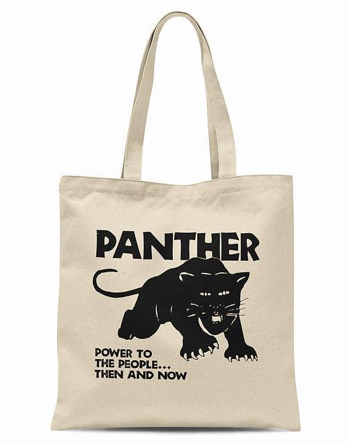 Black Panther Organic Cotton Tote Shopper Bag