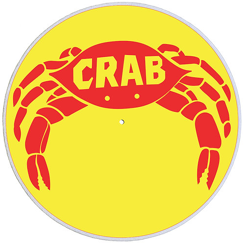 Crab Records Slipmats - Double Pack (2 Units)