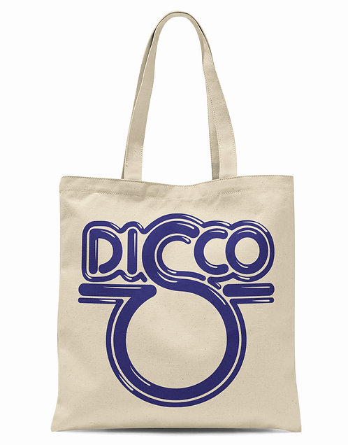 Disco Single Organic Cotton Tote Shopper Bag