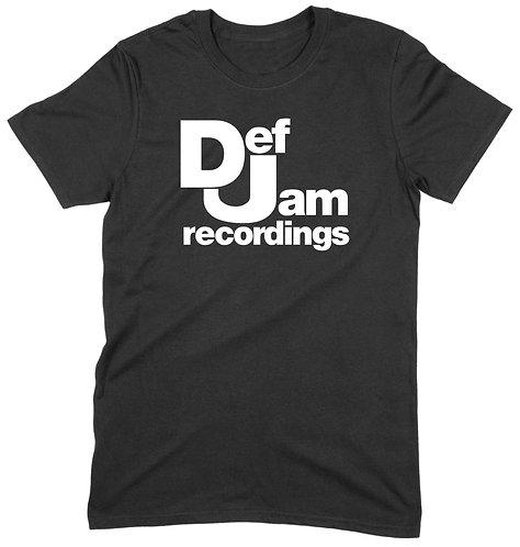Def Jam T-Shirt - 3XL / BLACK / ORGANIC STANDARD WEIGHT