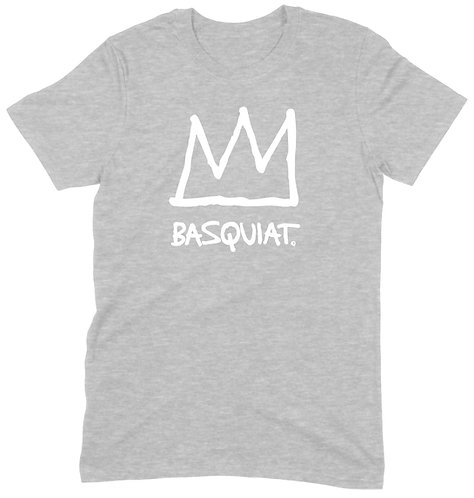 Basquiat T-Shirt - 2XL / GREY MARL / ORGANIC STANDARD WEIGHT