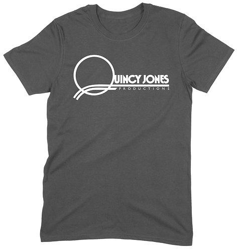 Quincy Jones T-Shirt - MEDIUM / CHARCOAL  / ORGANIC STANDARD WEIGHT