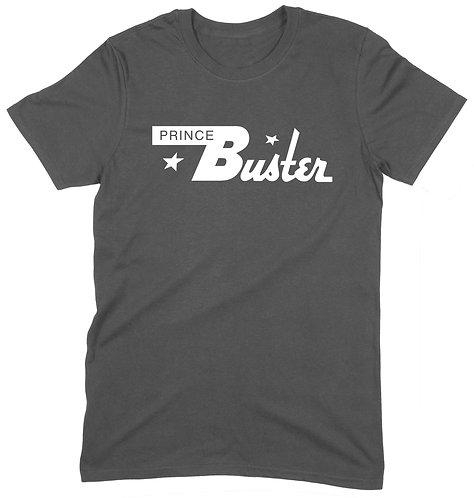 Prince Buster T-Shirt - LARGE / CHARCOAL / ORGANIC STANDARD