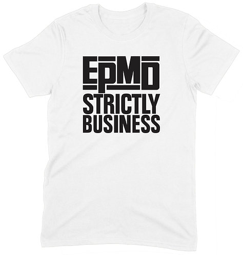 EPMD T-Shirt - MEDIUM / WHITE / ORGANIC STANDARD WEIGHT