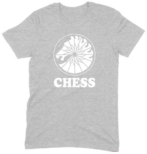 Chess Recs T-Shirt - XL / GREY MARL / ORGANIC STANDARD WEIGHT