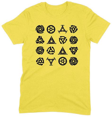 16 Adaptors T-Shirt - XL / YELLOW / ORGANIC STANDARD WEIGHT