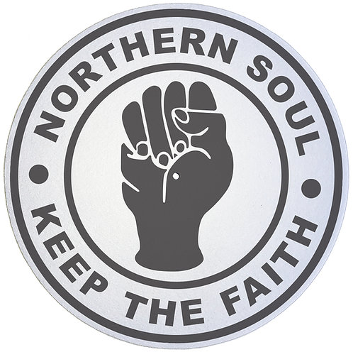 Northern Soul Keep The Faith Slipmats - Double Pack (2 Units)