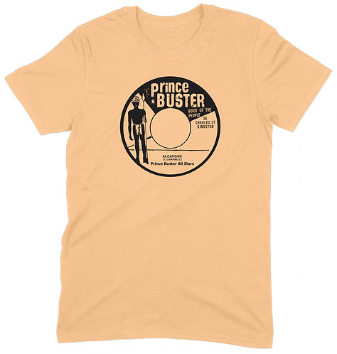 Prince Buster Voice Of The People T-Shirt - SMALL / PALEYELLOW / STANDARD WEIGHT