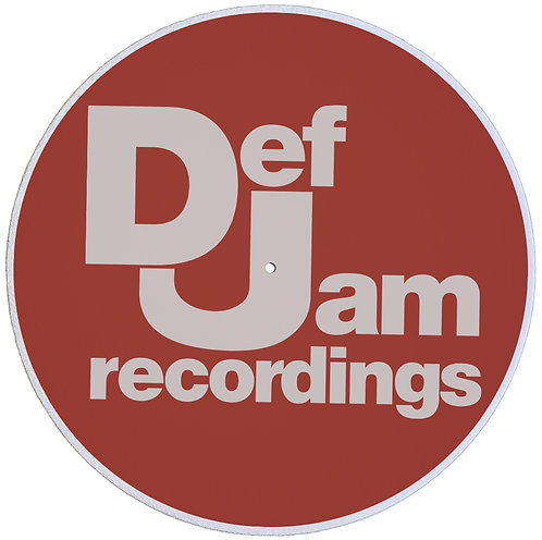Def Jam Records Slipmats - Double Pack (2 Units)
