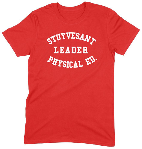 Stuyvesant T-Shirt - SMALL / RED / PREMIUM WEIGHT