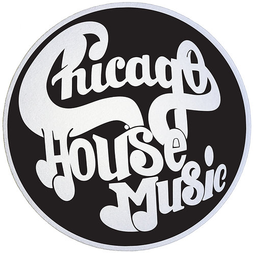 Chicago House Music Slipmats - Double Pack (2 Units)