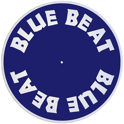 "Blue Beat Records Slipmats Double Pack (2 x 7"")"