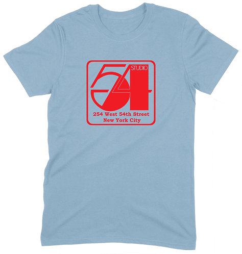 Studio 54 T-Shirt - 2XL / LIGHT BLUE / ORGANIC STANDARD WEIGHT