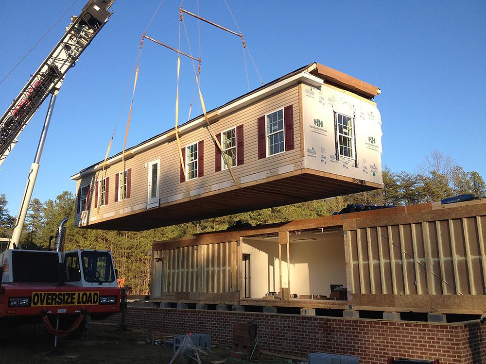 Modular House construction