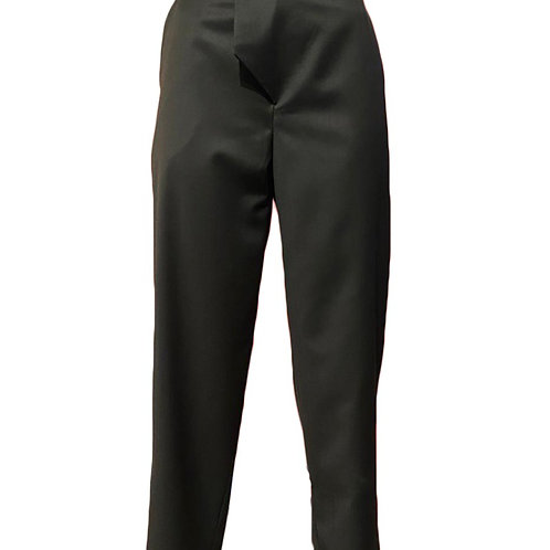 Pantalon coupe droite en Laine