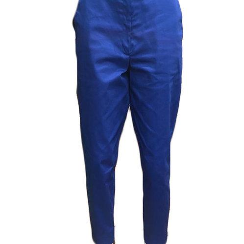 Pantalon coupe droite en coton