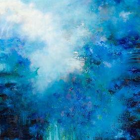 Bukett blå