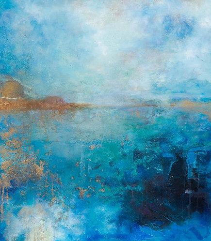 Vannet - blå  - opplag 30