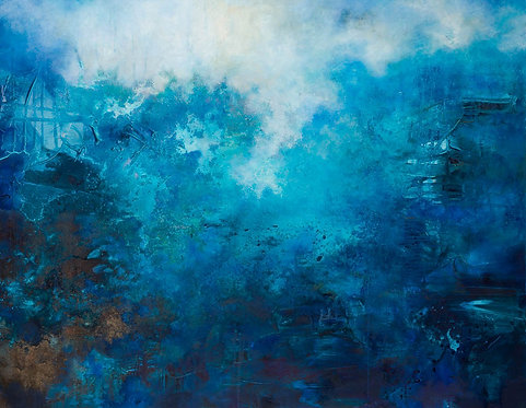 Himmelsk blå  - opplag 30