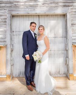 Gorgeous barn wedding at the Inn at Fogg Farm in Gray, ME. ._._._._._