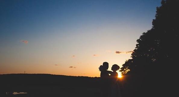 I looooove sunset photos and this sky di