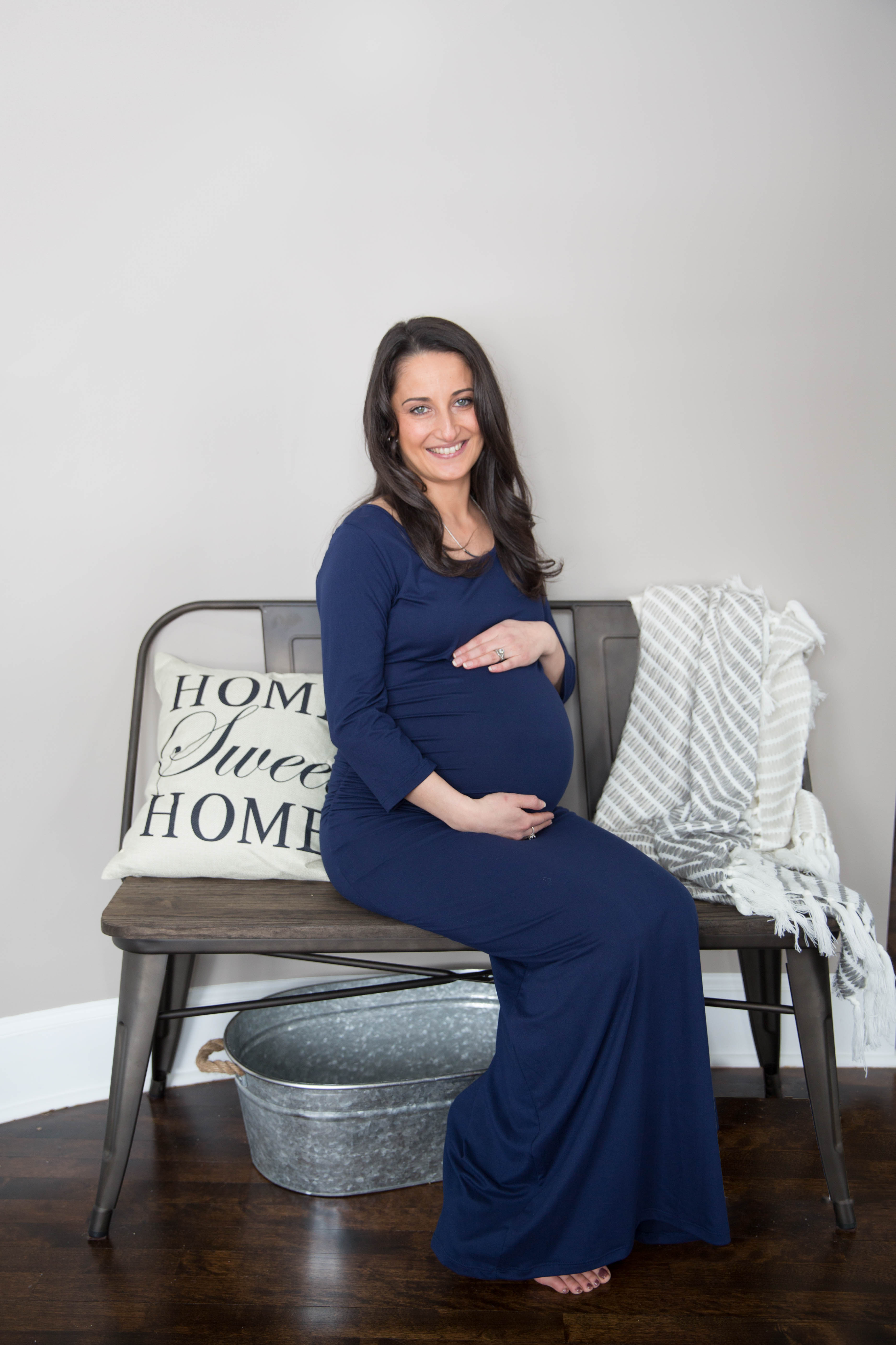 Maine Maternity Photographer - Winte