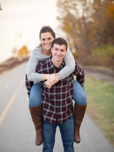 """Engagement Photos in Maine"""