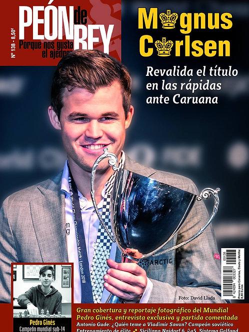 Revista Peón de Rey No. 138