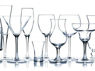 Trucos para limpiar copas de cristal