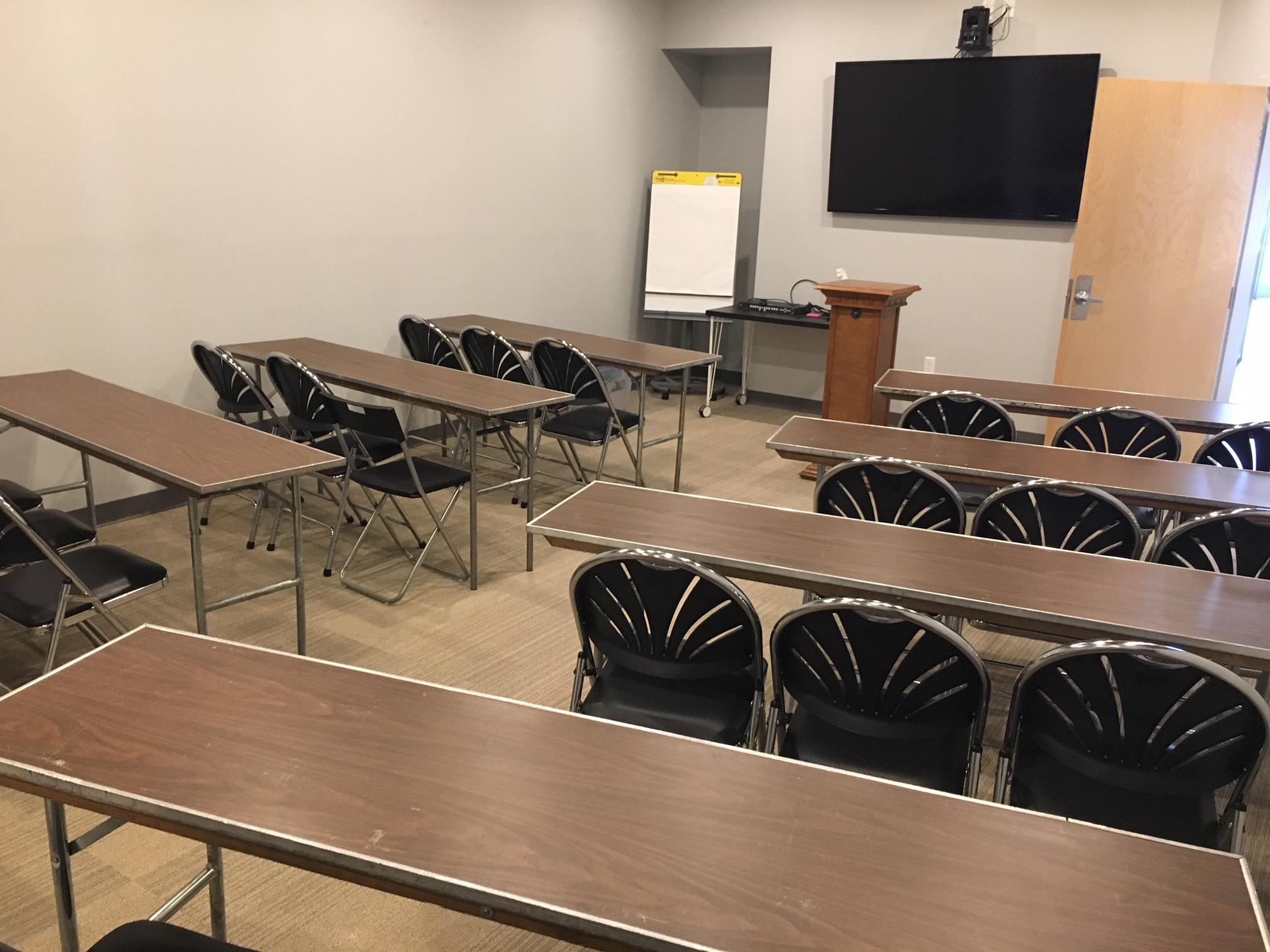 Griffin Boardroom Seminar Setup
